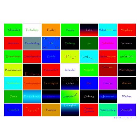 Farbaspekte - Poster quer