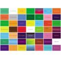 Karten-Set Farb-Aspektekarten mit 42 Motiven