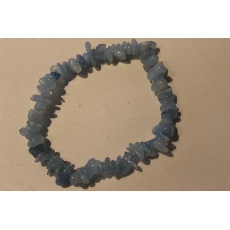 Aquamarien-Armband