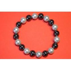 Perle-Hämatit-Armband